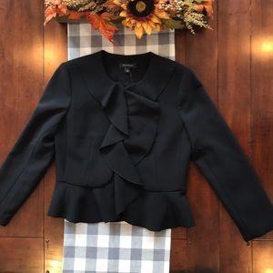 Ann Taylor  NWT Size 4 Black Short Black Jacket